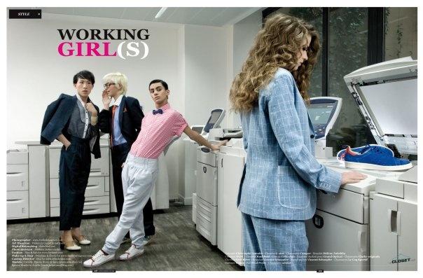 (ouais au boulot je suis payée pour photocopier des shoes, c'est conceptuel)