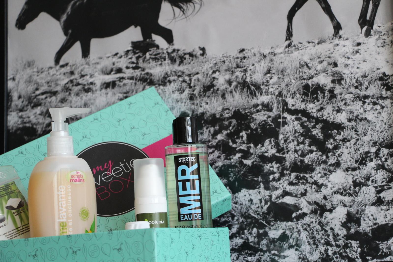 Zoom sur My Sweetie box de juin