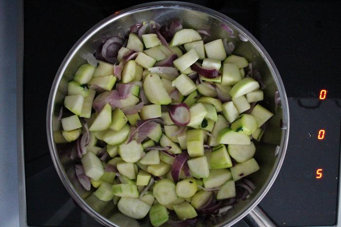 Gratin courgette pomme de terre coco !