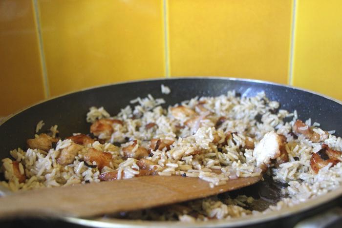 Blanc de dinde sauté au riz coco