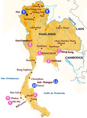 Découvrez mon périple en Thaïlande