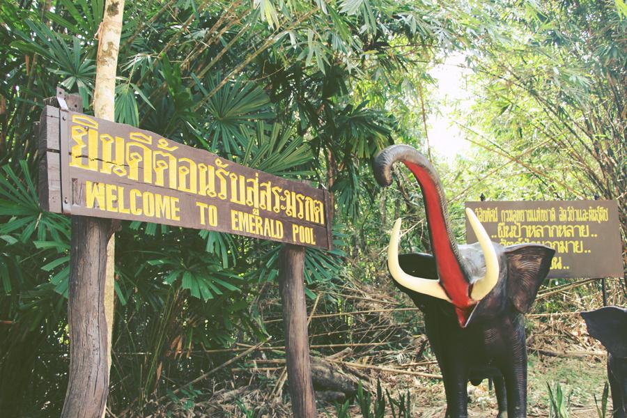 Thaïlande : j'ai testé l'Emerald pool