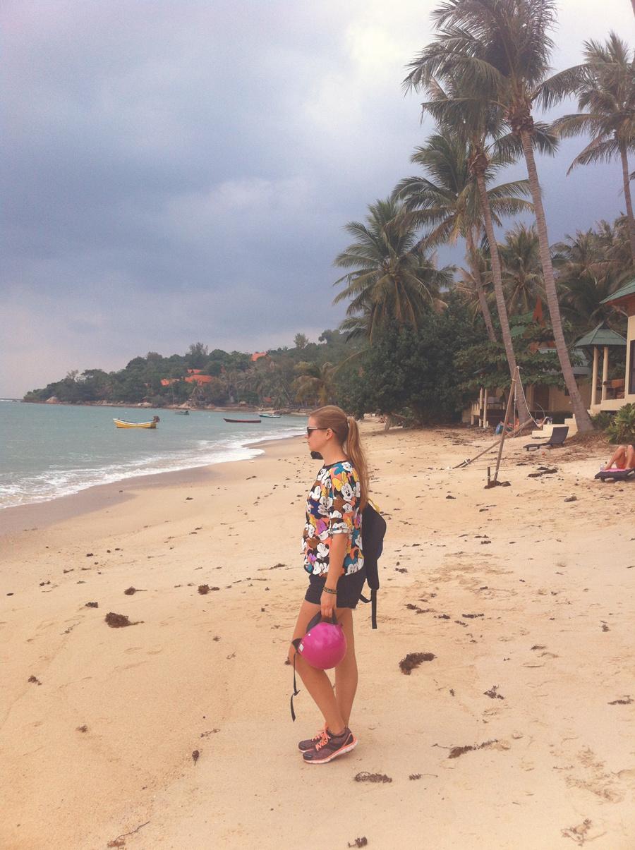 Finalement nous avons juste fait 45 minutes de plage sur cette île